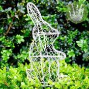 glasfiguur duwbuxus konijn luxe